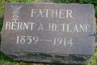 HETLAND, BERNT A. - Cerro Gordo County, Iowa | BERNT A. HETLAND