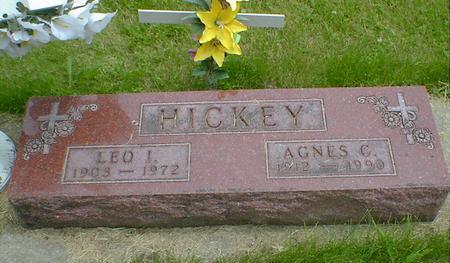HICKEY, AGNES C. - Cerro Gordo County, Iowa | AGNES C. HICKEY
