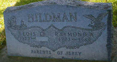 HILDMAN, RAYMOND A. - Cerro Gordo County, Iowa | RAYMOND A. HILDMAN