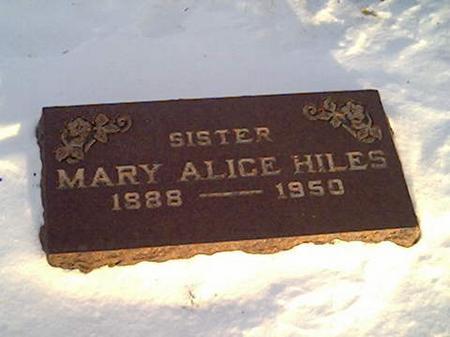 HILES, MARY - Cerro Gordo County, Iowa | MARY HILES