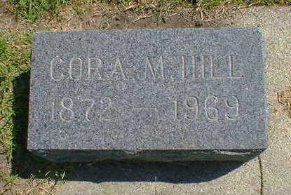 HILL, CORA M. - Cerro Gordo County, Iowa | CORA M. HILL
