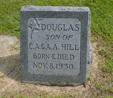 HILL, DOUGLAS - Cerro Gordo County, Iowa   DOUGLAS HILL