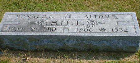 HILL, ALTON R. - Cerro Gordo County, Iowa | ALTON R. HILL