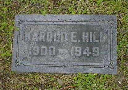 HILL, HAROLD E. - Cerro Gordo County, Iowa | HAROLD E. HILL