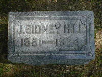 HILL, J. SIDNEY - Cerro Gordo County, Iowa | J. SIDNEY HILL