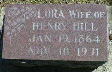 HILL, LORA - Cerro Gordo County, Iowa   LORA HILL