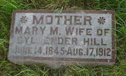 HILL, MARY M. - Cerro Gordo County, Iowa | MARY M. HILL