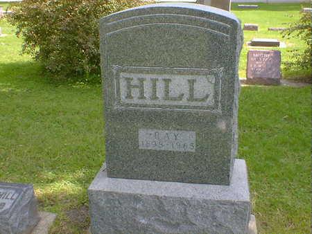 HILL, RAY - Cerro Gordo County, Iowa | RAY HILL