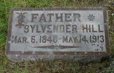 HILL, SYLVENDER - Cerro Gordo County, Iowa | SYLVENDER HILL
