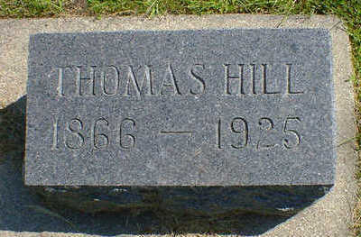 HILL, THOMAS - Cerro Gordo County, Iowa | THOMAS HILL