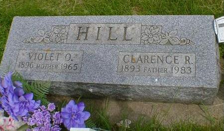 HILL, CLARENCE R. - Cerro Gordo County, Iowa   CLARENCE R. HILL