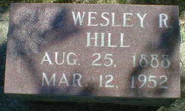 HILL, WESLEY R. - Cerro Gordo County, Iowa | WESLEY R. HILL