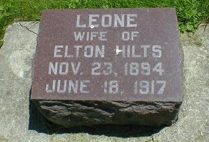 HILTS, LEONE - Cerro Gordo County, Iowa | LEONE HILTS