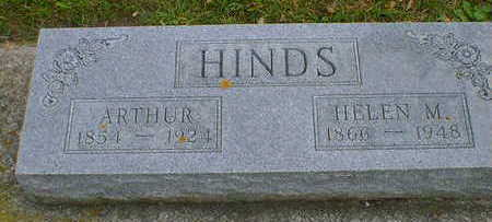 HINDS, HELEN M. - Cerro Gordo County, Iowa | HELEN M. HINDS