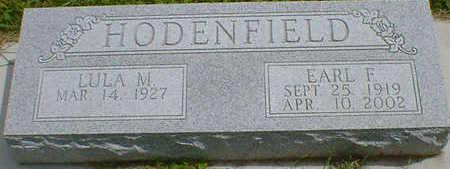 HODENFIELD, EARL F. - Cerro Gordo County, Iowa   EARL F. HODENFIELD