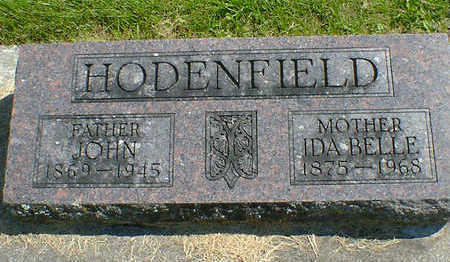 HODENFIELD, IDA BELLE - Cerro Gordo County, Iowa | IDA BELLE HODENFIELD