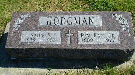 HODGMAN, EARL SR. - Cerro Gordo County, Iowa | EARL SR. HODGMAN