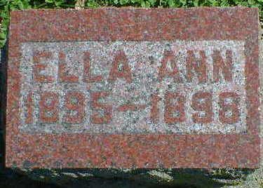 HODNEFIELD, ELLA ANN - Cerro Gordo County, Iowa | ELLA ANN HODNEFIELD