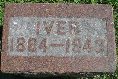 HODNEFIELD, IVER - Cerro Gordo County, Iowa | IVER HODNEFIELD
