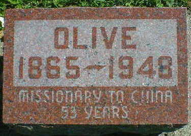 HODNEFIELD, OLIVE - Cerro Gordo County, Iowa | OLIVE HODNEFIELD