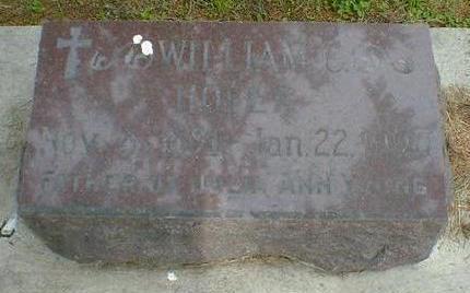 HOFER, WILLIAM C - Cerro Gordo County, Iowa | WILLIAM C HOFER