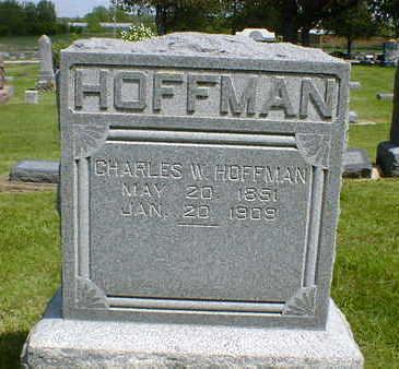HOFFMAN, CHARLES W. - Cerro Gordo County, Iowa   CHARLES W. HOFFMAN
