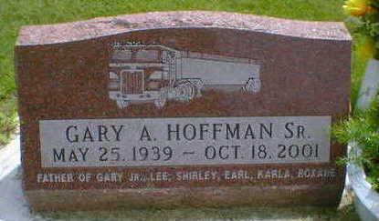 HOFFMAN, GARY A. SR. - Cerro Gordo County, Iowa | GARY A. SR. HOFFMAN