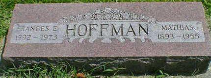 HOFFMAN, MATHIAS - Cerro Gordo County, Iowa | MATHIAS HOFFMAN