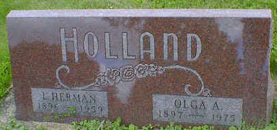 HOLLAND, OLGA A. - Cerro Gordo County, Iowa | OLGA A. HOLLAND