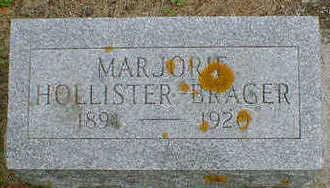 HOLLISTER-BRAGER, MARJORIE - Cerro Gordo County, Iowa | MARJORIE HOLLISTER-BRAGER