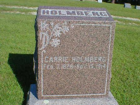 HOLMBERG, CARRIE - Cerro Gordo County, Iowa | CARRIE HOLMBERG