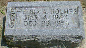 HOLMES, DORA A. - Cerro Gordo County, Iowa | DORA A. HOLMES