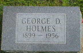 HOLMES, GEORGE D. - Cerro Gordo County, Iowa   GEORGE D. HOLMES
