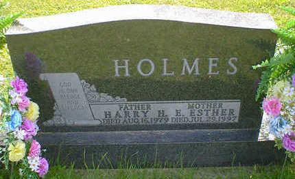 HOLMES, E. ESTHER (BEENKEN) - Cerro Gordo County, Iowa   E. ESTHER (BEENKEN) HOLMES