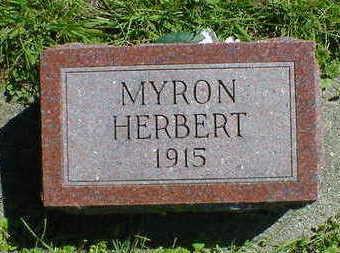 HOLT, MYRON HERBERT - Cerro Gordo County, Iowa | MYRON HERBERT HOLT