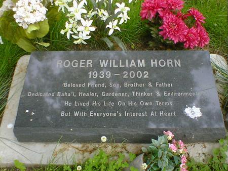 HORN, ROGER WILLIAM - Cerro Gordo County, Iowa   ROGER WILLIAM HORN