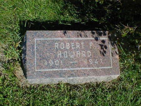 HOWARD, ROBERT F. - Cerro Gordo County, Iowa | ROBERT F. HOWARD