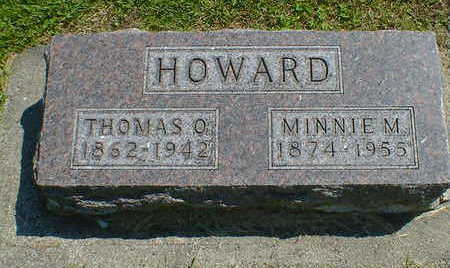 HOWARD, MINNIE M. - Cerro Gordo County, Iowa | MINNIE M. HOWARD