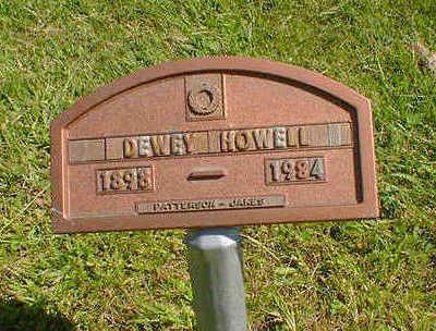 HOWELL, DEWEY - Cerro Gordo County, Iowa | DEWEY HOWELL