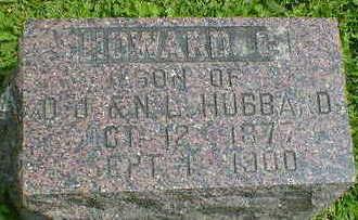 HUBBARD, HOWARD C. - Cerro Gordo County, Iowa   HOWARD C. HUBBARD