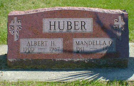 HUBER, MANDELLA OLIVE (AMUNDSON) JOHANNESSEN - Cerro Gordo County, Iowa | MANDELLA OLIVE (AMUNDSON) JOHANNESSEN HUBER