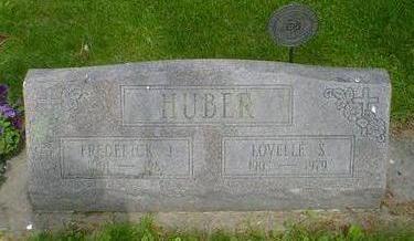 HUBER, LOVELLE S. - Cerro Gordo County, Iowa | LOVELLE S. HUBER