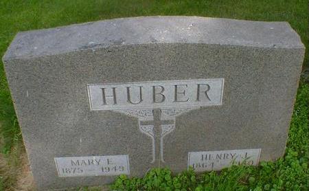 HUBER, MARY E. - Cerro Gordo County, Iowa | MARY E. HUBER