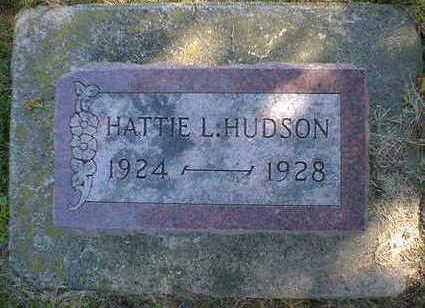 HUDSON, HATTIE L. - Cerro Gordo County, Iowa | HATTIE L. HUDSON