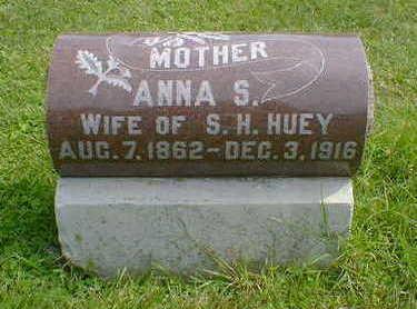 HUEY, ANNA S. - Cerro Gordo County, Iowa | ANNA S. HUEY