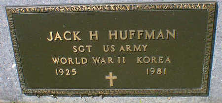 HUFFMAN, JACK H. - Cerro Gordo County, Iowa | JACK H. HUFFMAN