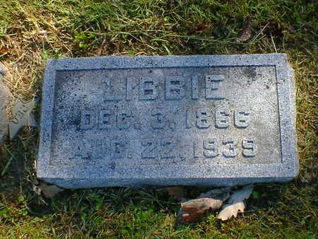 HUGH, LIBBIE - Cerro Gordo County, Iowa | LIBBIE HUGH
