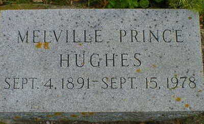HUGHES, MELVILLE PRINCE - Cerro Gordo County, Iowa | MELVILLE PRINCE HUGHES