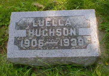 HUGHSON, LUELLA - Cerro Gordo County, Iowa | LUELLA HUGHSON