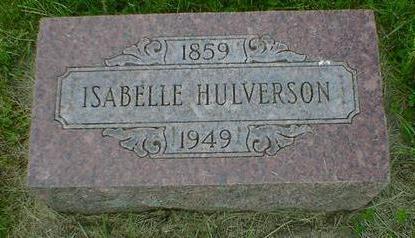 HULVERSON, ISABELLE - Cerro Gordo County, Iowa | ISABELLE HULVERSON